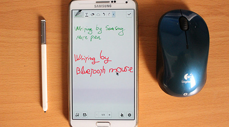 connecting bluetooth mouse to smartphone