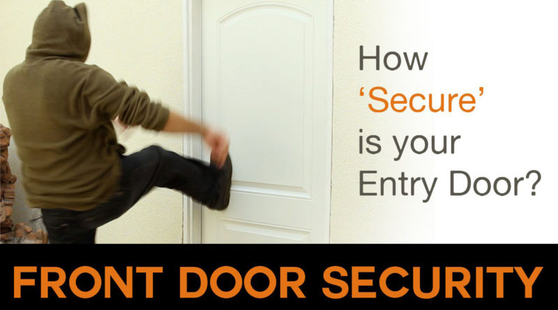 Simple-Front Door Security Solution